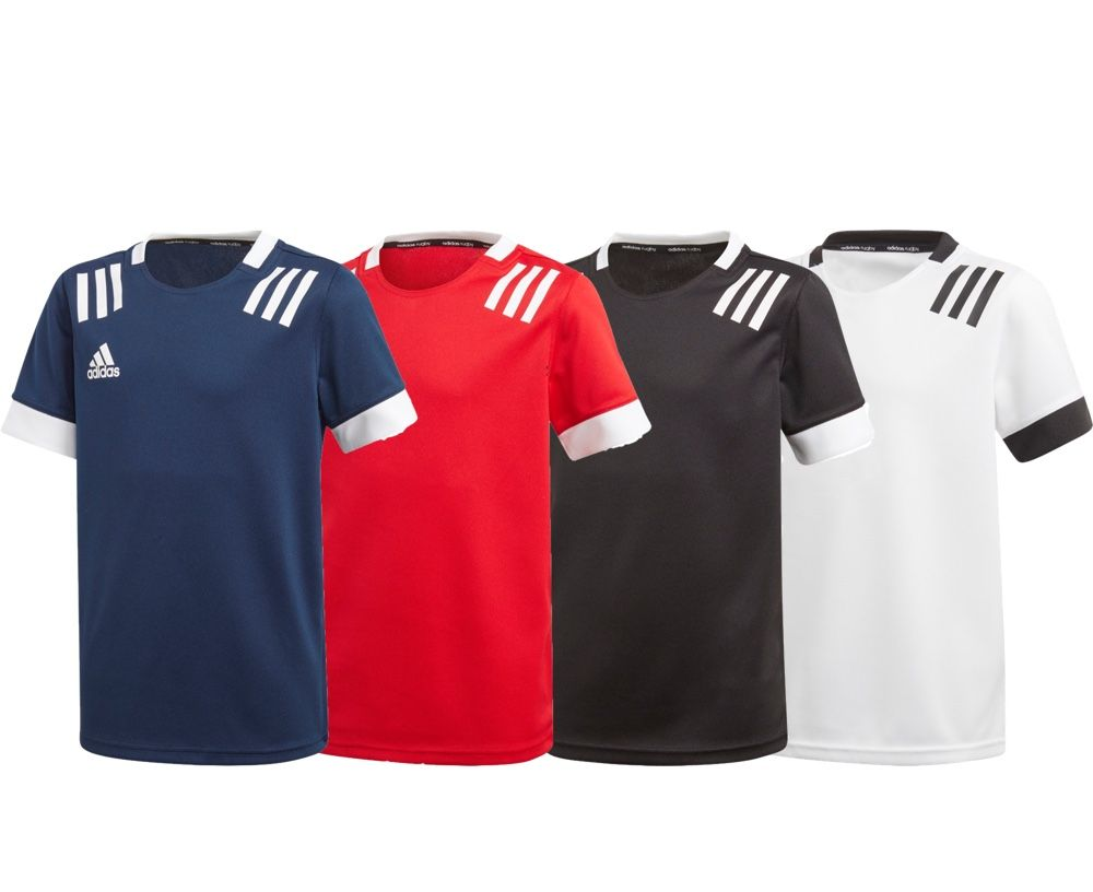 Mal Exagerar R  Adidas 3S Fitted Rugby Jersey | Adult Mens Training Top | Fight Equipment UK