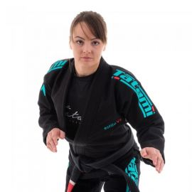 Tatami Ladies Estilo 6.0 BJJ GI - Black/Teal