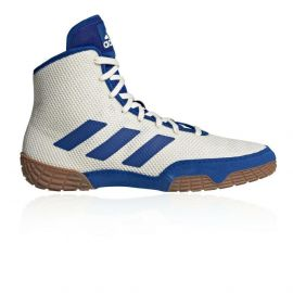 Adidas Tech Fall Wrestling Boots - White/Blue