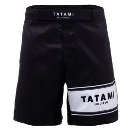 Tatami Fraction BJJ Shorts - Black