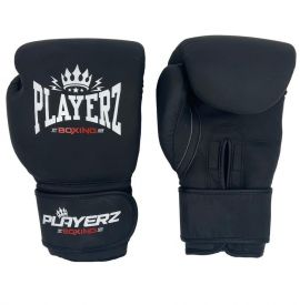 Playerz Battle Boxing Gloves - Matt Black