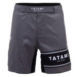 Tatami Fraction BJJ Shorts - Grey