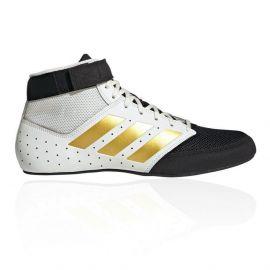 Adidas Mat Hog 2.0 Wrestling Boots - Black/Gold