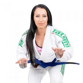 Tatami Ladies Estilo 6.0 BJJ GI - White/Emerald