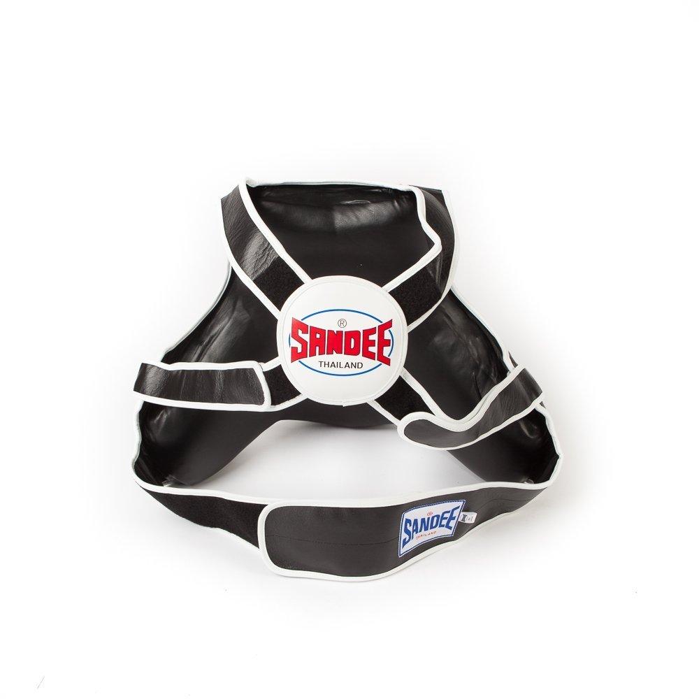 Sandee Sport Full Body Pad Coaching Muay Thai Boxing Protection Black White