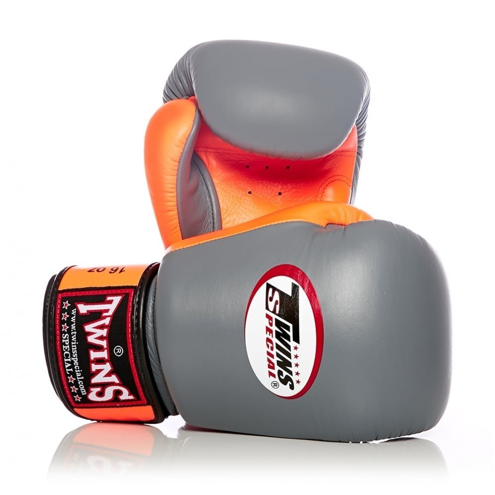 Twins special 2-Tone White-Black Boxing Gloves