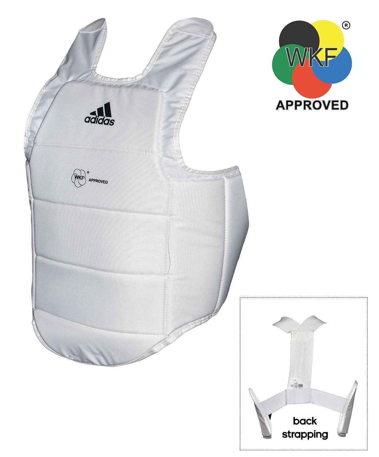 Adidas Karate WKF Approved Body Chest Protector