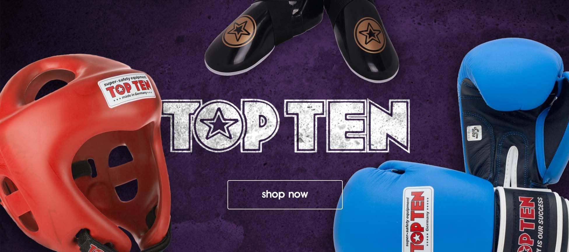 Shop Top Ten Fight Equipment